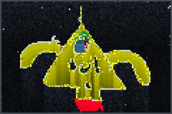 My Rocketship!! Pixel Art
