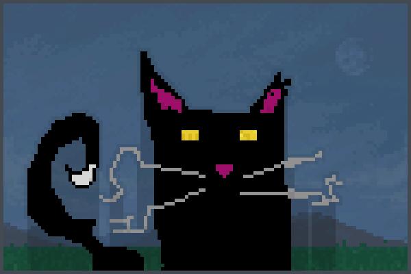 cat art88888888 Pixel Art