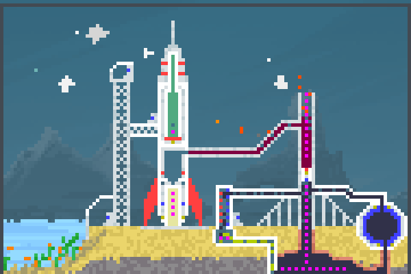 Preview rocket station World